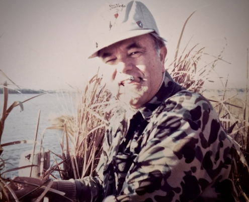 Ralph Forrest Duck Hunting